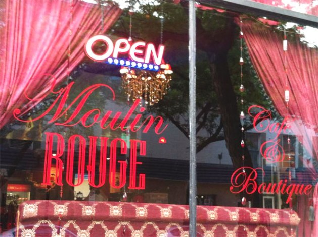Moulin Rouge Cafe & Boutique Hamilton, Ontario #HamOnt