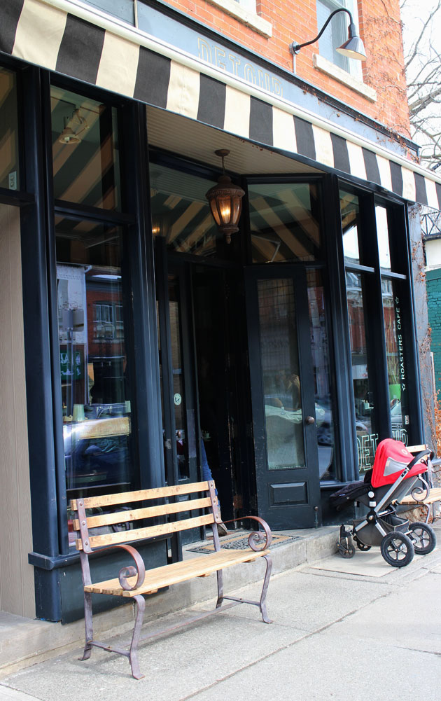 hamilton small fries | Detour Cafe and Restaurant Hamilton Ontario | Storefront Pic 1