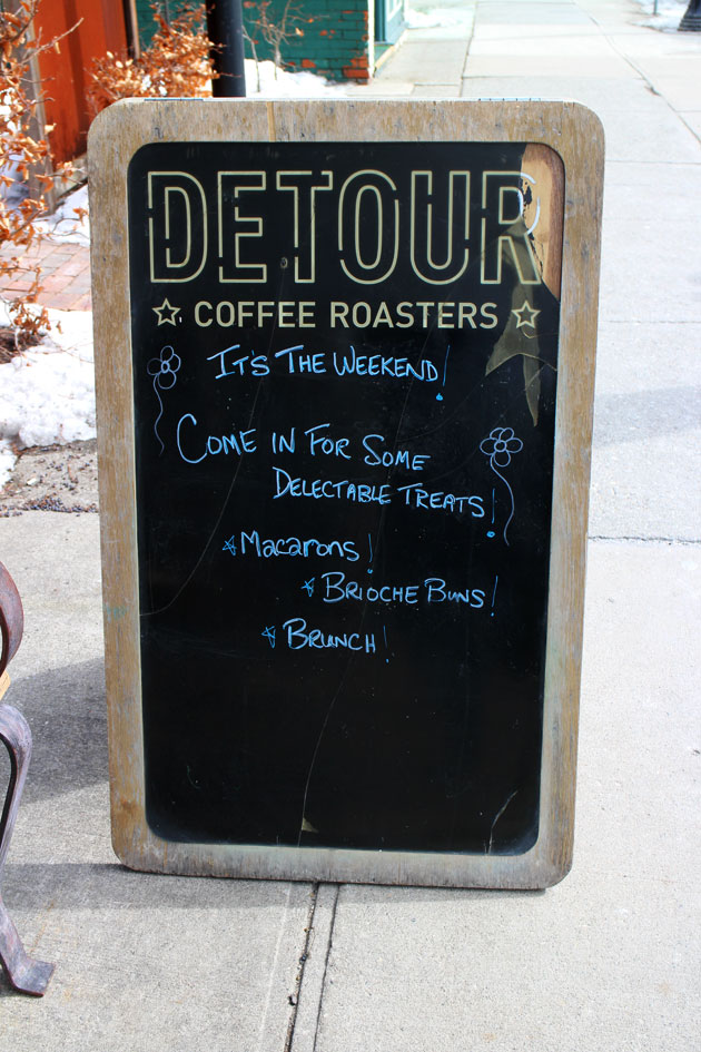hamilton small fries | Detour Cafe and Restaurant Hamilton Ontario | Outside Pic 11