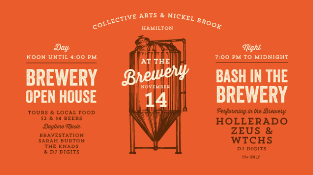 Collective Arts and Nickelbrook Brewery Hamilton Ontario